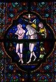 Entfernung von Adam und von Eve vom Paradies Stockbilder