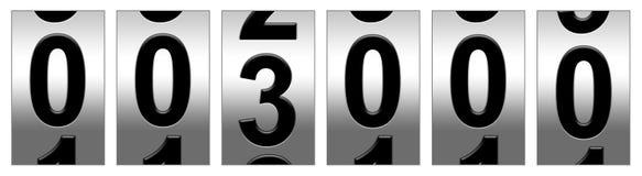 Entfernungsmesser 3000 Lizenzfreie Stockfotografie