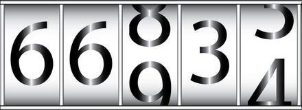 Entfernungsmesser stock abbildung