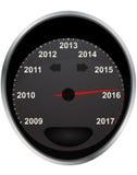 Entfernungsmesser 2016 Lizenzfreies Stockfoto