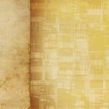 Entfremdeter benutzter Papierhintergrund lizenzfreie abbildung