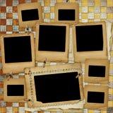 Entfremdetes Feld für Foto Lizenzfreies Stockbild