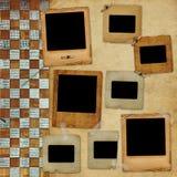 Entfremdetes Feld für Foto Lizenzfreies Stockfoto