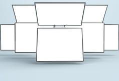 Entgegenkommendes Netz-Modell/entgegenkommendes APP-Modell Stockbild