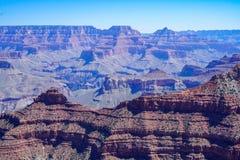 Enthält und schaukelt am Nationalpark des Grand Canyon stockbild