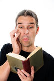 Enthralling book Royalty Free Stock Image