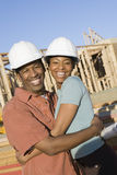 Enthusiastic African American Couple Stock Photos