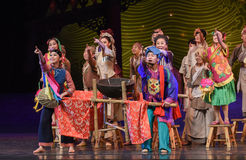 """Enthusiastic audience-Dance drama """"The Dream of Maritime Silk Road"""". Dance drama """"The Dream of Maritime Silk Road"""" centers on the plot of two Stock Image"""