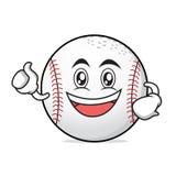 Enthusiastic baseball character cartoon collection. Vector art Stock Photo