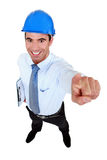 Enthusiastic engineer Stock Photos