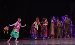 "Enthusiastic neighbors-Dance drama ""The Dream of Maritime Silk Road"" Royalty Free Stock Photo"