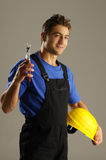 Enthusiastic worker Stock Photography