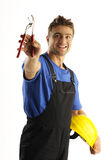 Enthusiastic worker Royalty Free Stock Photography
