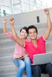Enthusiastic youth Royalty Free Stock Photo