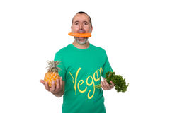 Entièrement vegan Photo libre de droits
