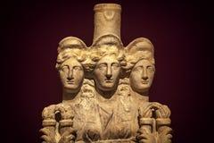 Enti antichi del marmo di età immagine stock