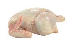 entier cru de poulet Photographie stock libre de droits
