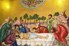 Entierro de Christs foto de archivo libre de regalías
