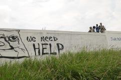 Entierro de Haití. Imagen de archivo