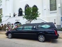 Entierro para Cynthia Hurd, Manuel A M e Iglesia, Charleston, SC Fotografía de archivo