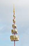 Entierro real tailandés y templo en Bangkok Fotografía de archivo