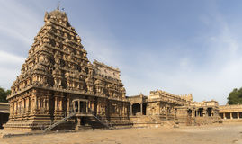Entire temple building seen from south-west corner. Stock Photography