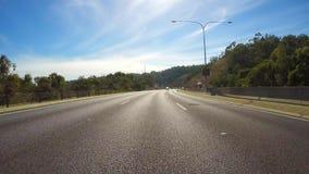 Entlang Autobahn von Stirling nach Adelaide fahren, Süd-Australien Stockbilder