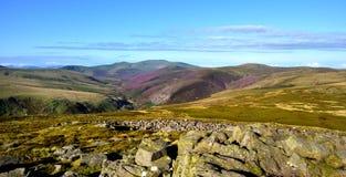 Entlang der Cumbria-Weise zu Skiddaw Stockfoto