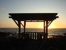 Entlang der Küste des Pazifischen Ozeans Stockbilder
