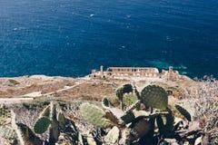 Entlang der Westküste von Sardinien stockfoto