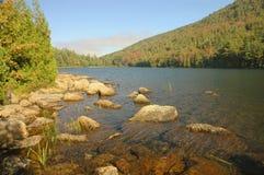 Entlang Jordanien-Teich Acadia Lizenzfreies Stockfoto