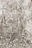Entlastung der Militärszene, Teil der Galerie von Angko Lizenzfreie Stockfotografie