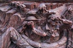 Entlastung des Denkmals WW2 Lizenzfreie Stockfotos