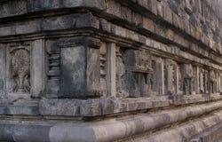 Entlastung des prambanan Tempelkörpers Lizenzfreie Stockfotografie