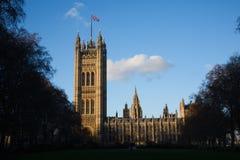 Entlastung des Victoria-Kontrollturms in London lizenzfreie stockbilder
