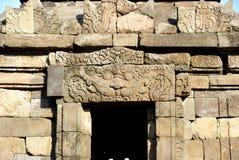 Entlastung und Skulptur in Ijo-Tempel Stockfotografie