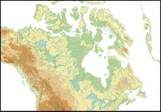 Entlastung von Kanada. Lizenzfreie Stockfotos
