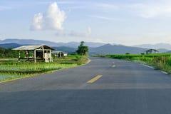 Entlastungsstraße lizenzfreie stockfotos