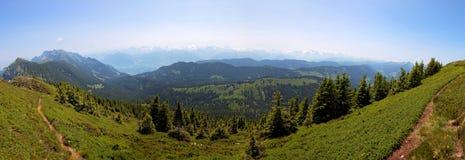 Entlebuch,瑞士,阿尔卑斯的山麓小丘的地区 库存图片