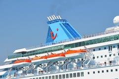 Entonnoir de Tui Cruises photos libres de droits