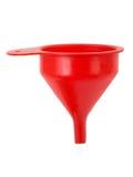 Entonnoir rouge Image libre de droits