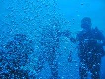 Entouré par Bubbles Images libres de droits
