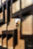 Entouré par de belles barrières autour du palais impérial images stock