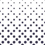 Entoure le modèle géométrique sans couture tramé de bleu de gradient Photo stock
