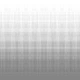 Entourez le fond noir et blanc de texture de points d'image tramée pour le modèle abstrait et la conception graphique Image stock
