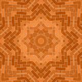 Entourez le fond synthétique kaléïdoscopique d'art, la géométrie complexe Images libres de droits