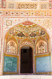 Entrée à Ganesh Pol en Amer Palace Photo stock