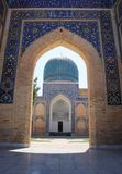 Entrée à Gur-e Amir, mausolée de Tamerlane Photographie stock