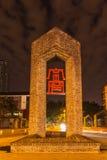 Entrée à Kunazhaixiangzi à Chengdu Photographie stock libre de droits