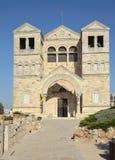 Entrée à l'église Image stock